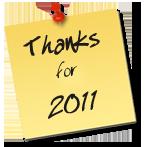 Danke für das erfolgreiche Band-Jahr 2011